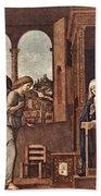 Cima Da Conegliano The Annunciation Bath Towel