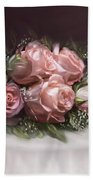 Spray Of  Roses Hand Towel