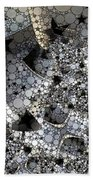 Circles And Stars Bath Towel