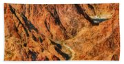City - Arizona - Grand Canyon - A Look Into The Abyss Bath Towel