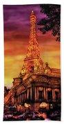 City - Vegas - Paris - The Paris Hotel Bath Towel