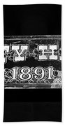 City Hall 1891 Bath Towel
