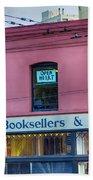 City Lights Booksellers Bath Towel