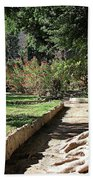 City Park Rhodes Greece Bath Towel