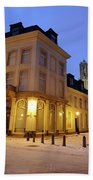Cityscape Of Utrecht In The Evening At Pausdam 5 Bath Towel