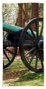 Civil War Cannon Bath Towel