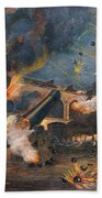 Civil War: Fort Sumter 1861 Bath Towel