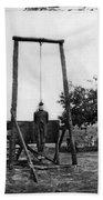 Civil War: Hanging, 1864 Bath Towel