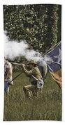 Civil War Re-enactment Bath Towel