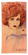 Clara, Redhead Bath Towel