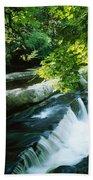 Clare Glens, Co Clare, Ireland Bath Towel