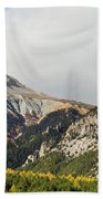 Claree Valley In Autumn - 12 - French Alps Bath Towel
