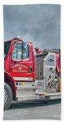 Clarks Chapel Fire Rescue - Engine 1351, North Carolina Bath Towel