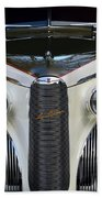 Classic Car Front End Bath Towel