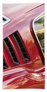 Classic Mustang Fastback Bath Towel