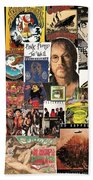 Classic Rock 2 Collage Bath Towel