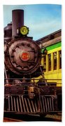 Classic Steam Train No 29 Bath Towel