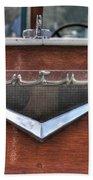 Classic Wooden Boat Bath Towel