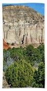 Claystone - Sandstone - Kodachrome Basin Bath Towel