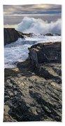 Clearing Storm At Bald Head Cliff Bath Towel