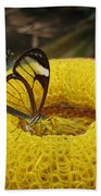 Clearwing Butterfly Bath Towel