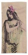 Cleo De Merode Bath Towel