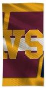 Cleveland Cavaliers Flag2 Bath Towel