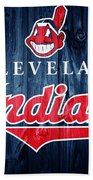 Cleveland Indians Barn Door Bath Towel