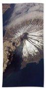 Cleveland Volcano, Iss Image Bath Towel