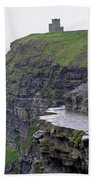 Cliffs Of Moher Ireland Bath Towel