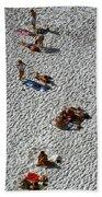 Clifton Beach, Cape Town Bath Towel by Travel Pics