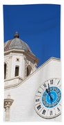 Clock And Tower Hand Towel
