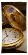 Clockmaker - Time Never Waits  Bath Towel