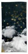 Cloud Cities Paris Bath Towel