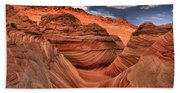 Clouds Over Coyote Buttes North Bath Towel