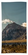 Clouds Over Red Rock Canyon Bath Towel
