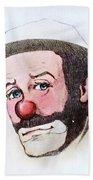 Clown Emmett Kelly Bath Towel