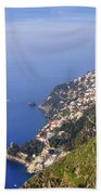 Coast Of Amalfi Bath Towel