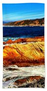 Coastal Abstraction Bath Towel