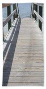 Coastal Walkway Bath Towel