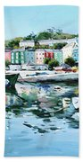 Cobh Harbour County Cork Bath Towel