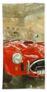 Cobra At Brooklands Bath Towel