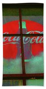 Coca Cola Bath Towel