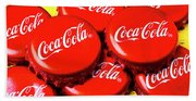 Coca Cola Caps Hand Towel
