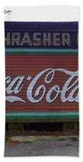 Coca Cola Sign Bath Towel