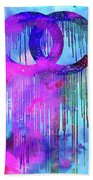 Coco Chanel Liquidated Logo Colorful Hand Towel