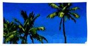 Coconut Palms 5 Bath Towel