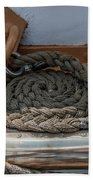 Coiled Rope Bath Towel