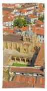 Coimbra Cathedral Aerial Bath Towel