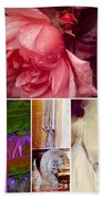 Collage So Rosey Bath Towel